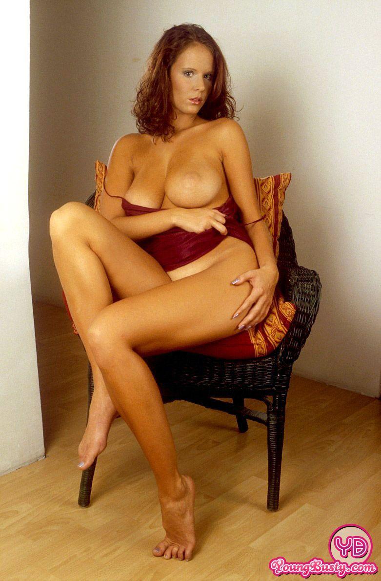 Busty redhead Raylene - 1