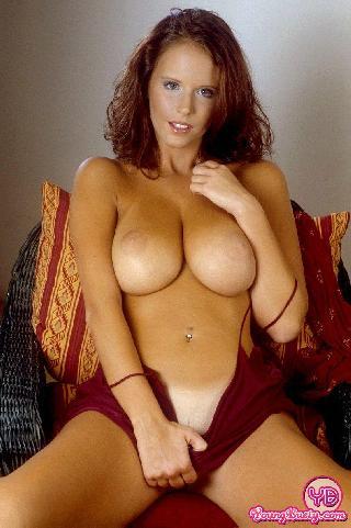 Busty redhead Raylene