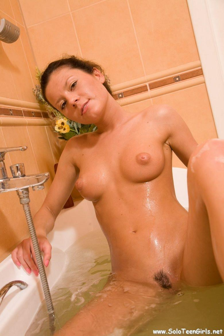 Sexy girl nude in bathtub - 9