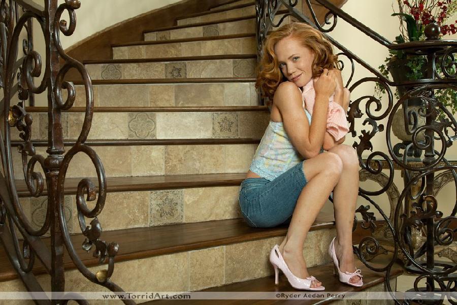 Heather Carolin in pink high heels - 2