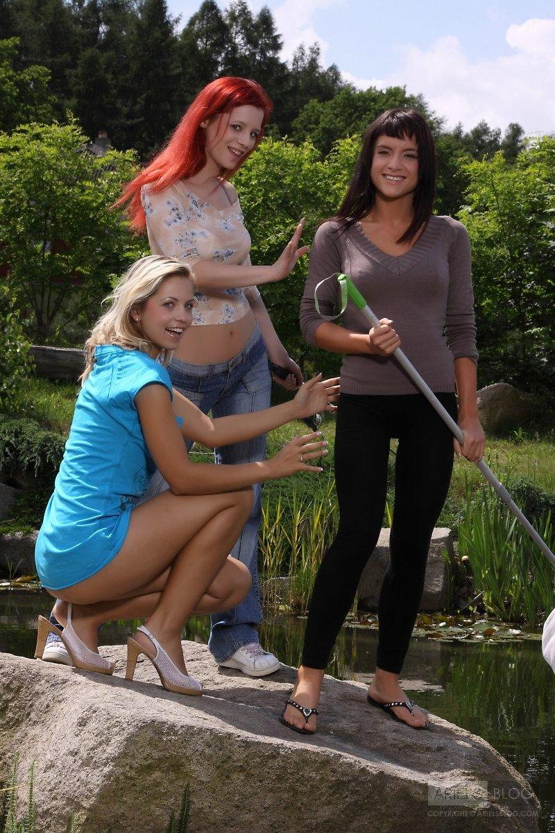 Ariel and her friends - 1