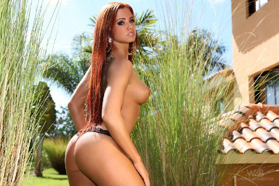 Busty red head - Ashley Bulgari - 9