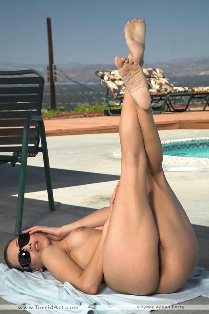 Celeste Star in white bikini - 12