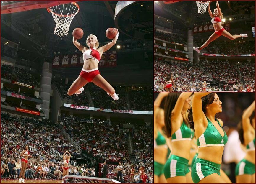 Slam dunking cheerleaders - 60