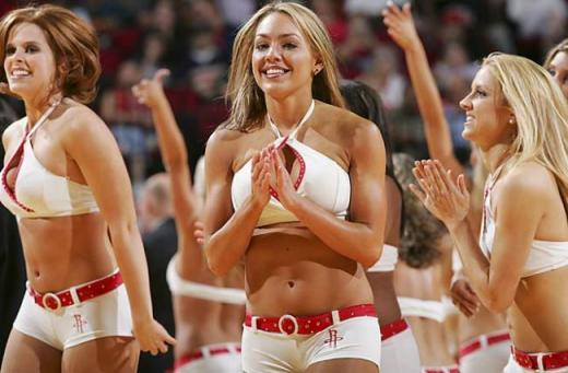 Slam dunking cheerleaders - 13
