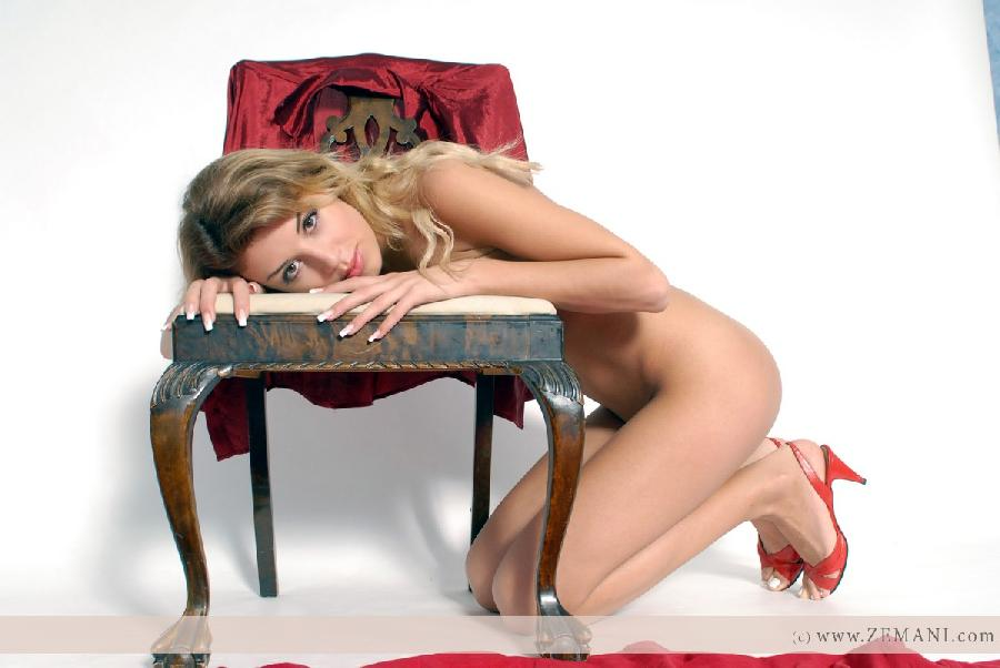 Cute Linda on a chair - 6