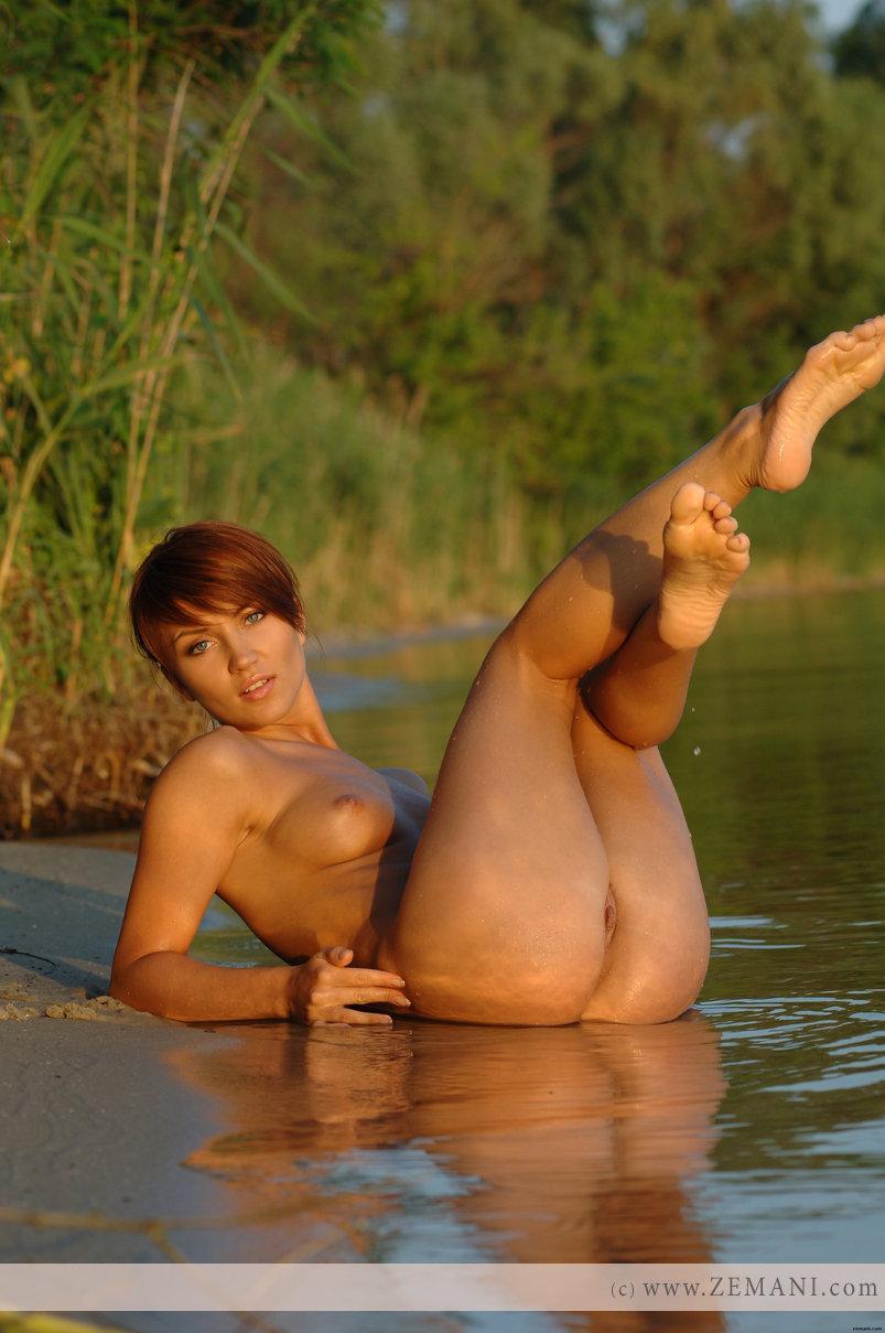 Sexy wet redhead - Katrin - 11