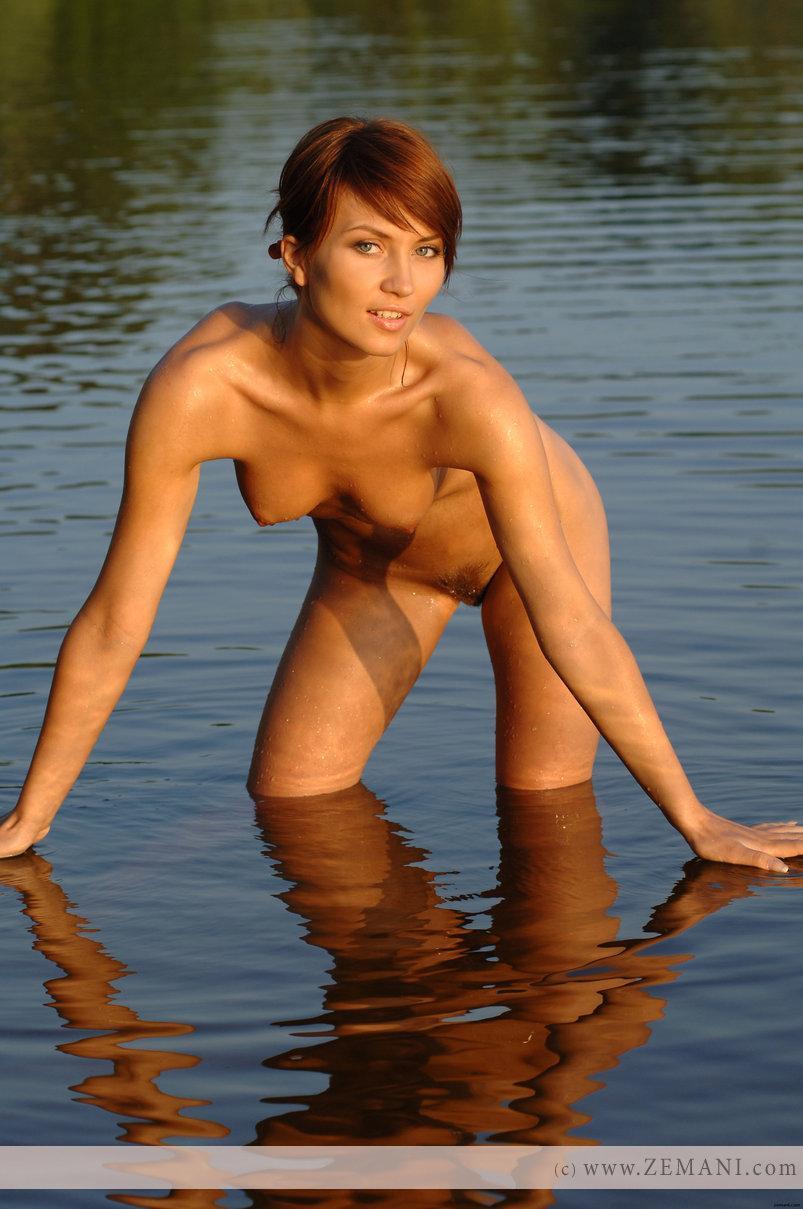 Sexy wet redhead - Katrin - 12