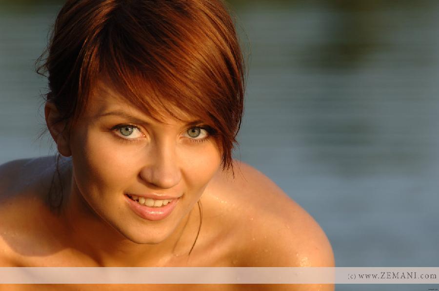 Sexy wet redhead - Katrin - 5