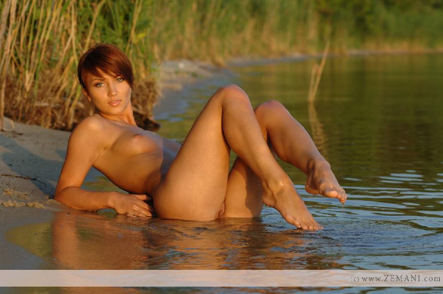 Sexy wet redhead - Katrin - 7