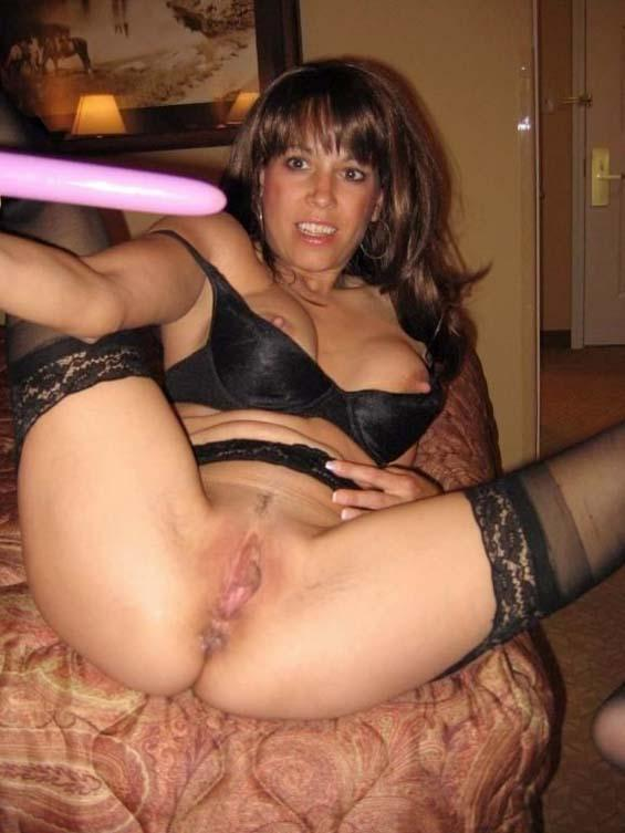 Sexy ex wife enjoys her sex toys - 5