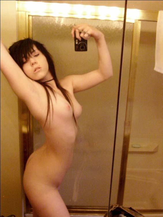 Simply Emo girl naked mirror thanks