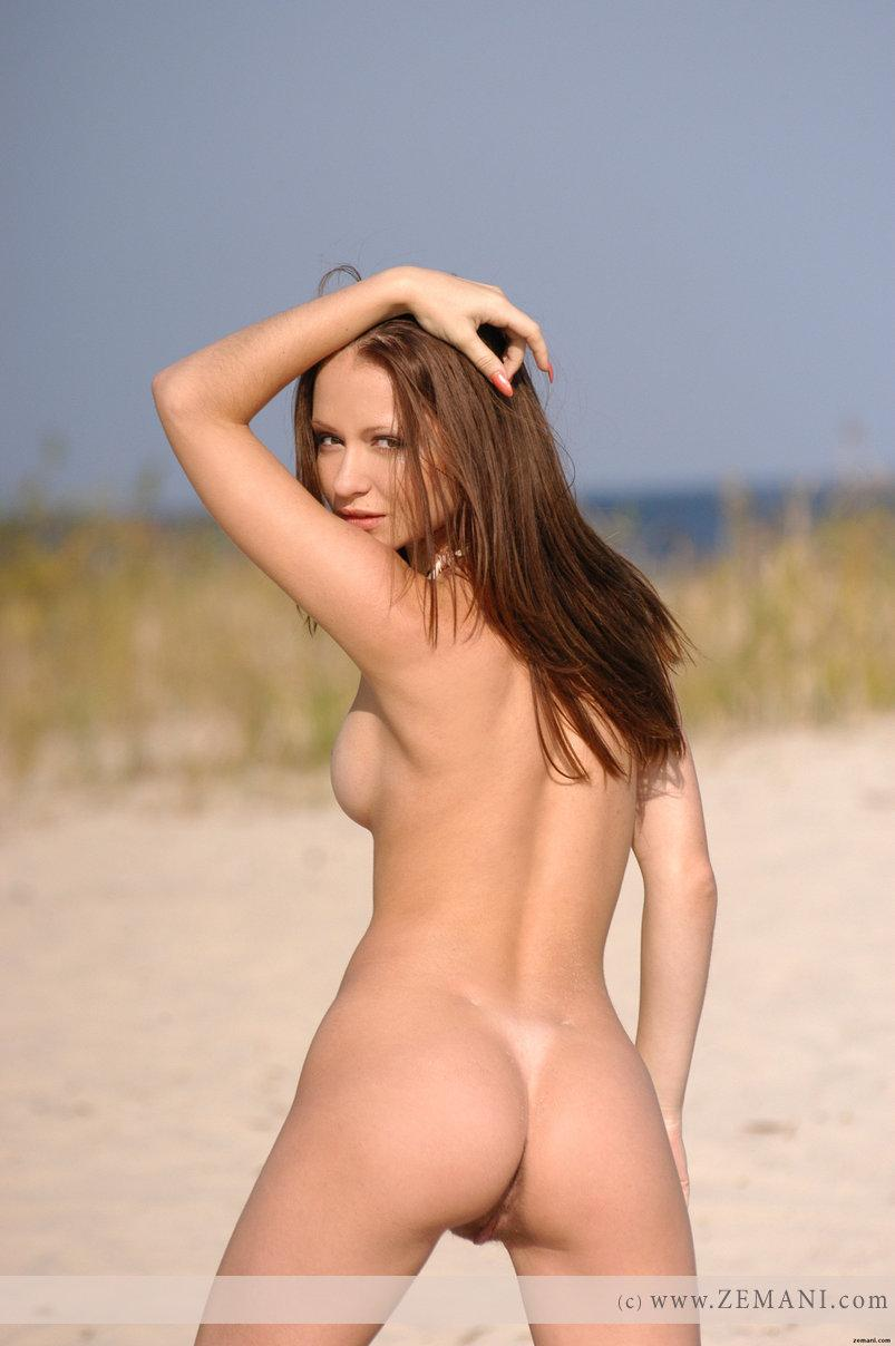 Sweet Allana on the sand - 12