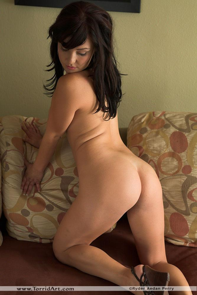 Cute latina on the couch - Valery Vasquez - 13
