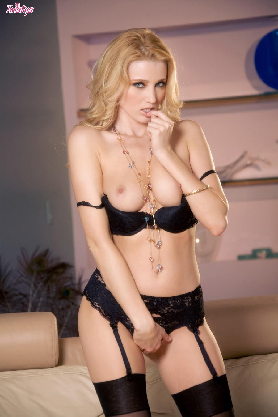 Carli Banks black lingerie set - 4