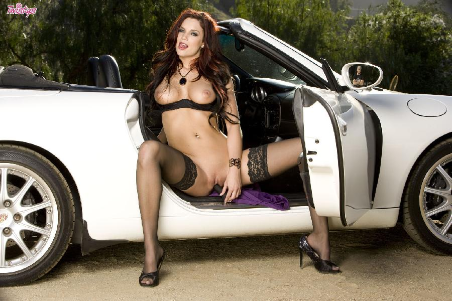 Jayden Cole lace top stockings - 10