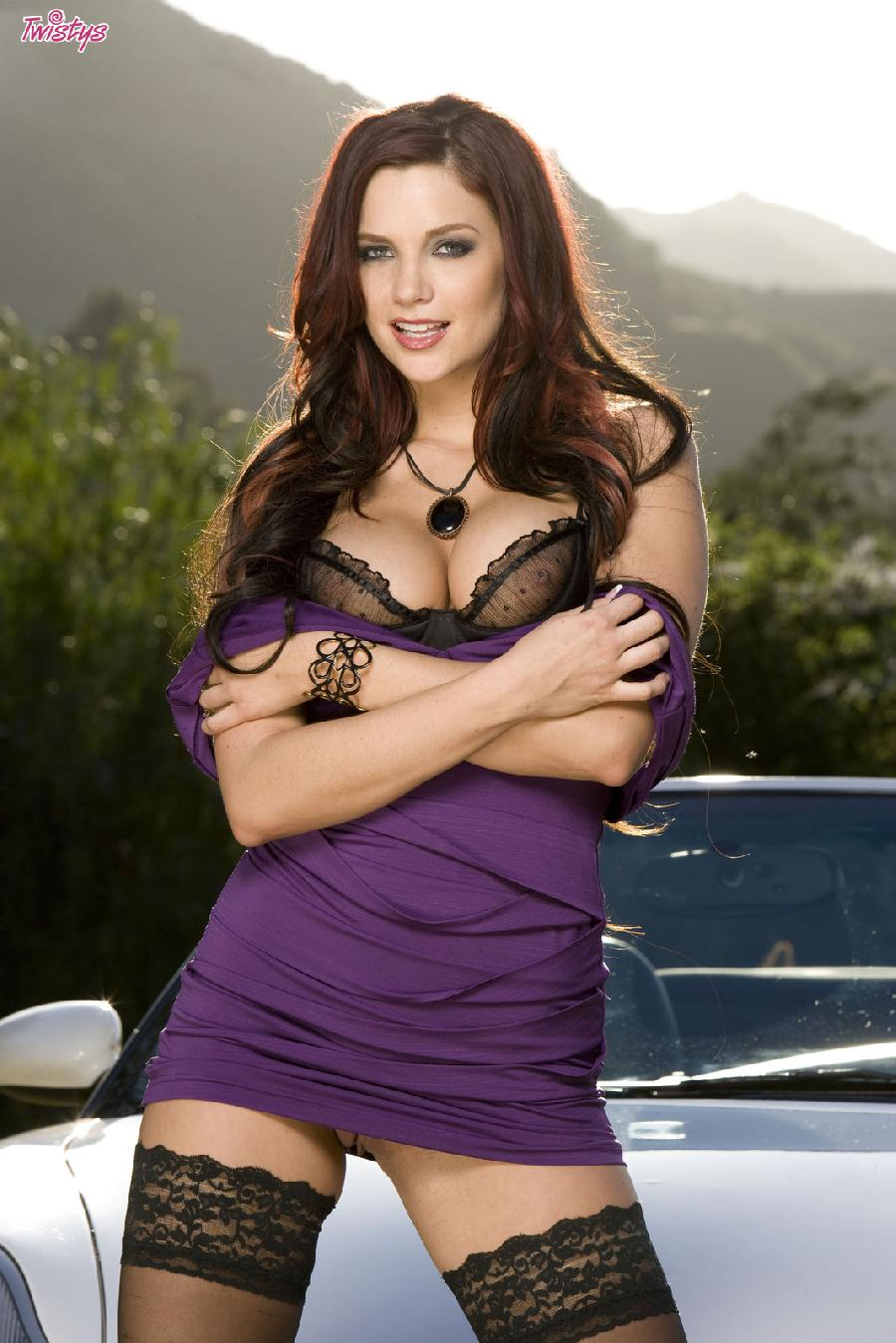 Jayden Cole lace top stockings - 2