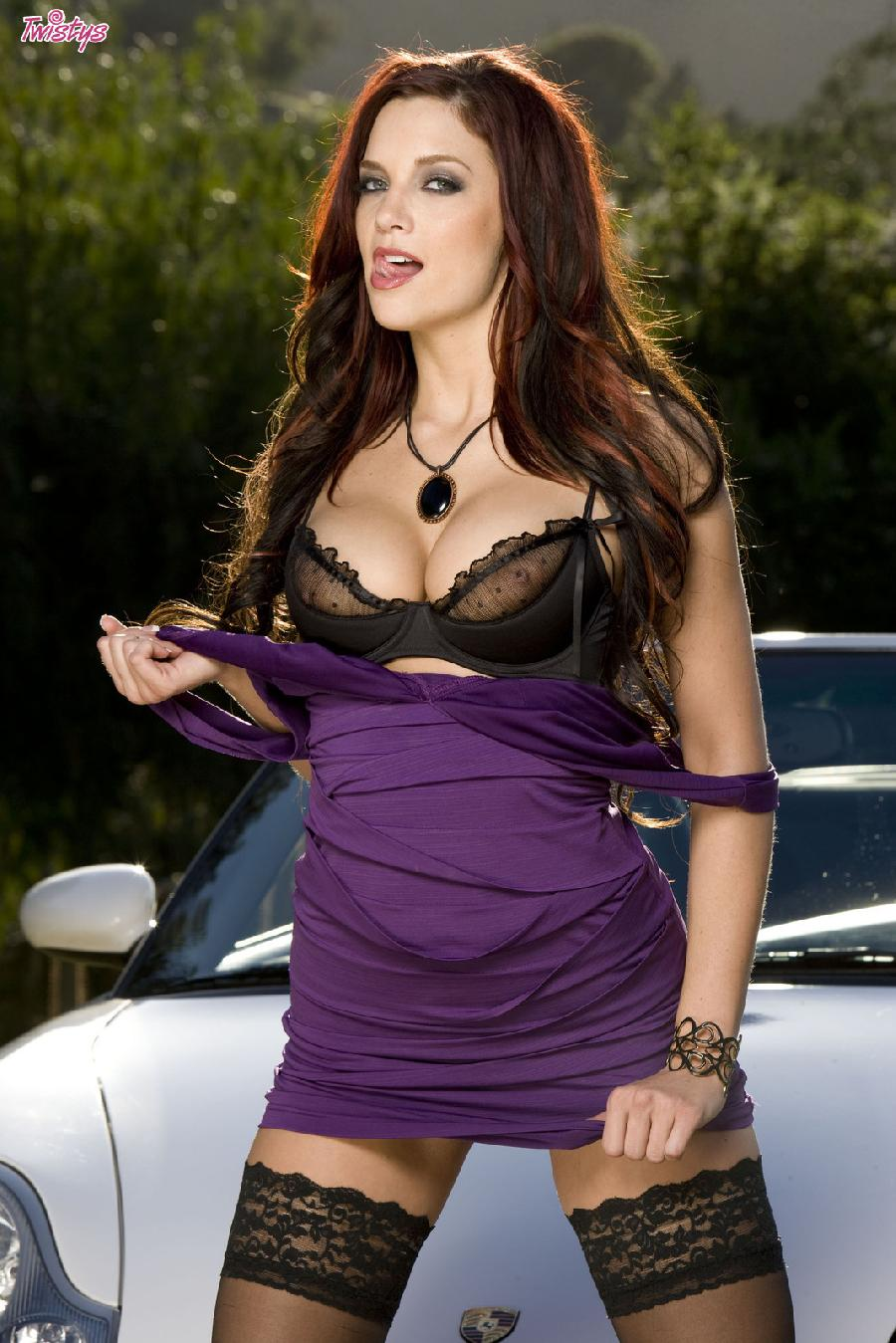 Jayden Cole lace top stockings - 3