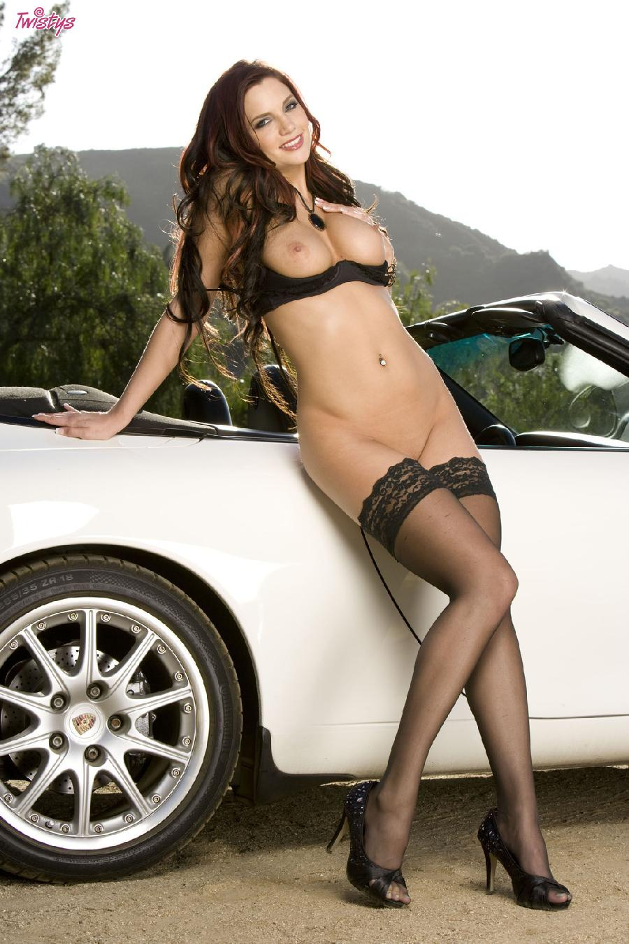 Jayden Cole lace top stockings - 9