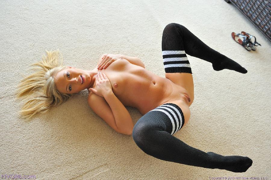 Gymnastics in black socks - Ally Kay - 4