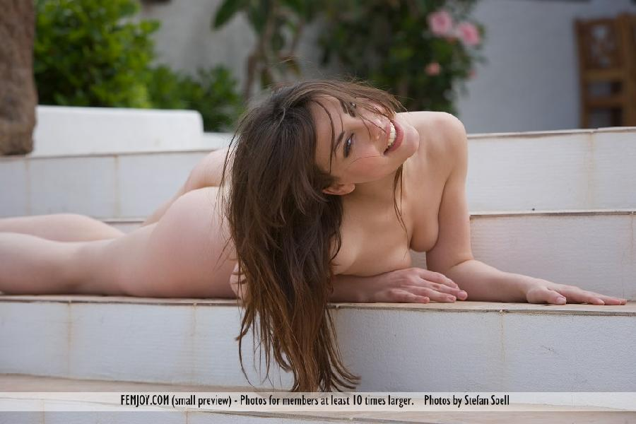Lorena Garcia on the pool - 3