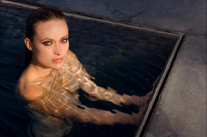 Olivia Wilde nude.