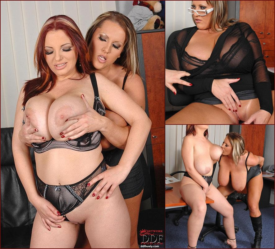 Hot lesbian sex involving a toy - Joanna Bliss & Laura M - 47
