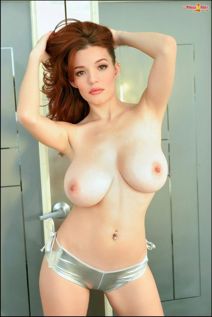 redhead boobs