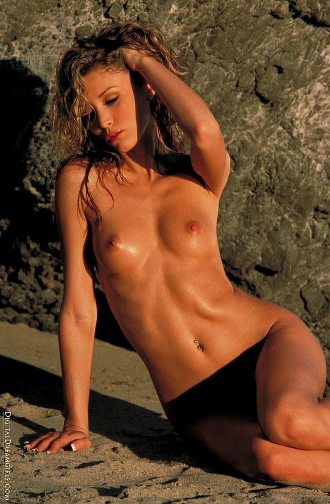 Monique Alexander nude at beach - 11