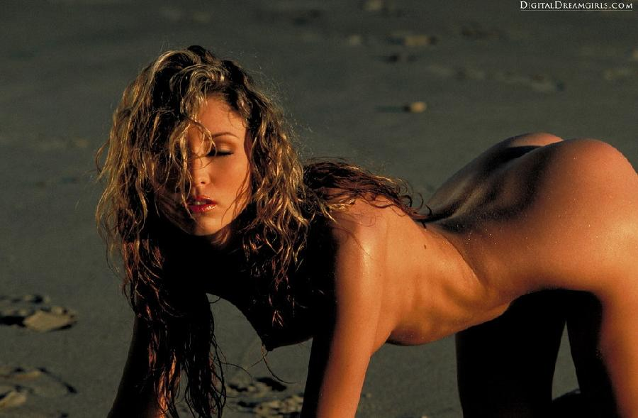 Monique Alexander nude at beach - 12