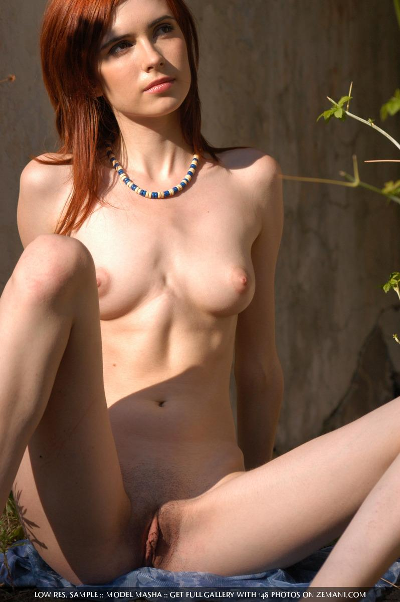 Very gentle and fragile red haired girl - Masha - 16