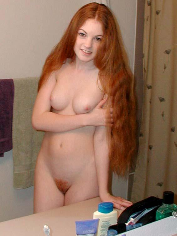 Naked young girls ginger absolutely