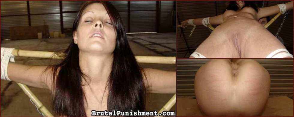 Young girl is tied tight and tormented - Angie - 81