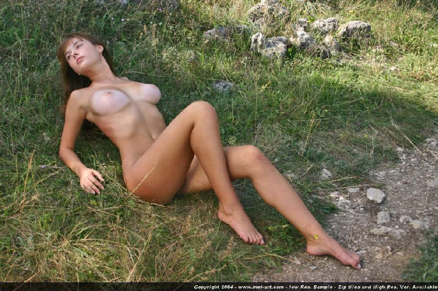 Young Masha and her almost all tanned body - 18