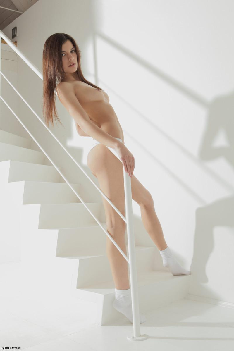 Astonishing brunette gets to bare - Kaylee - 5