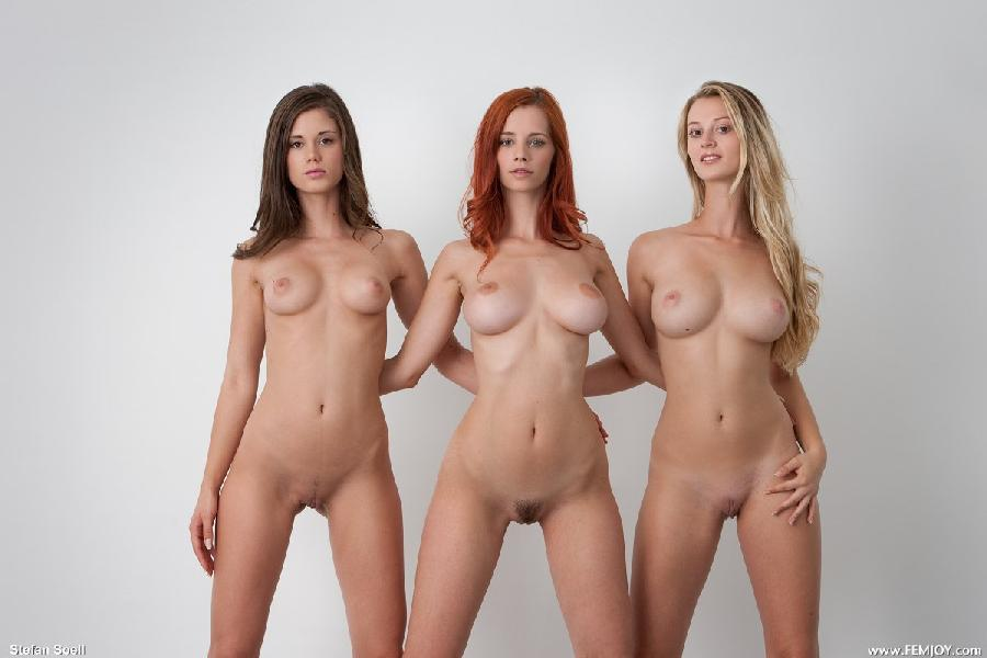 Three amazing girls in one gallery - Caprice, Carisha & Ariel - 8