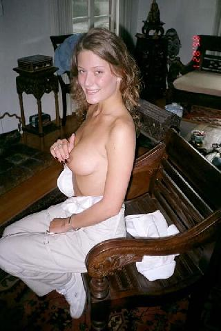 Cute amateur shows her big hole