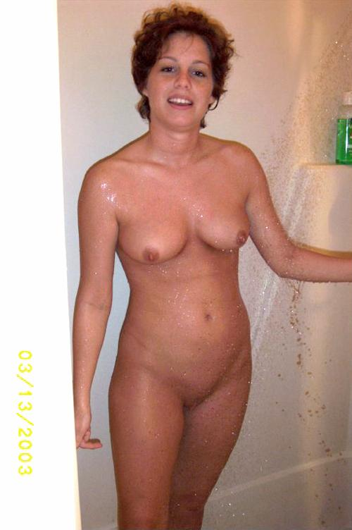 Fresh pussy after shower - 1