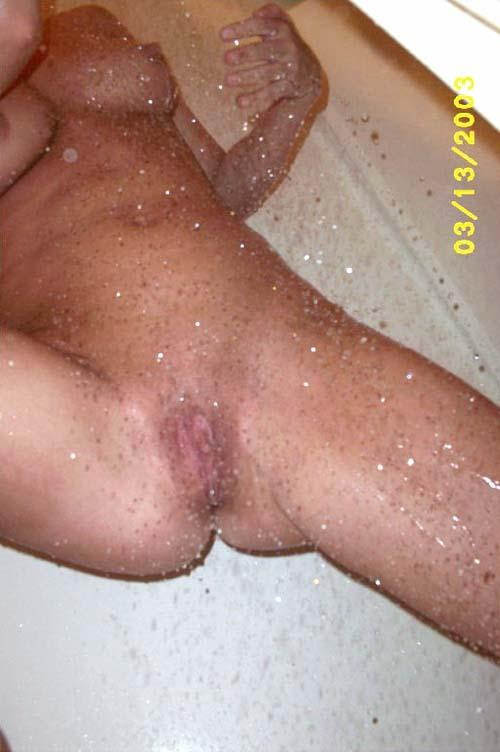 Fresh pussy after shower - 2