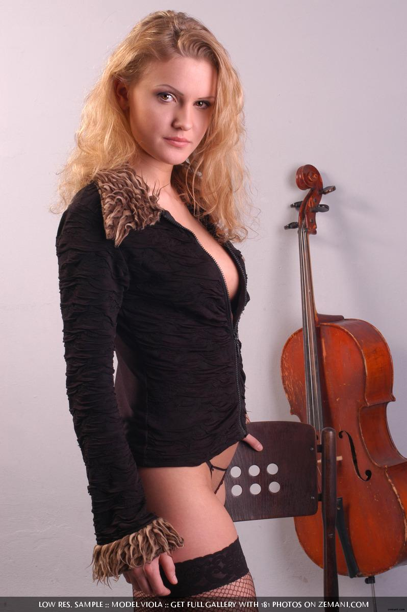 With you naked girl cello gallery