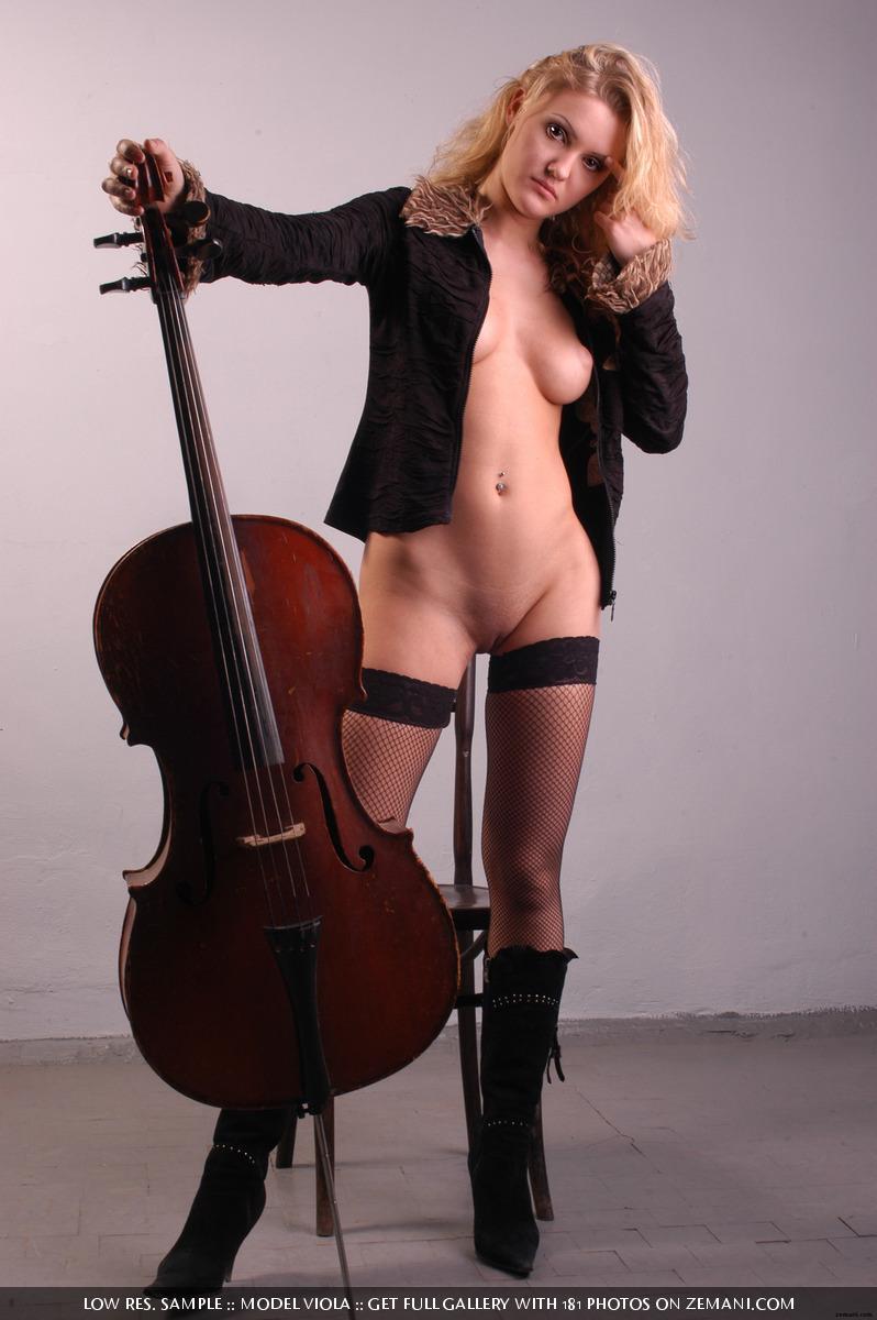 Naked cello sex porn