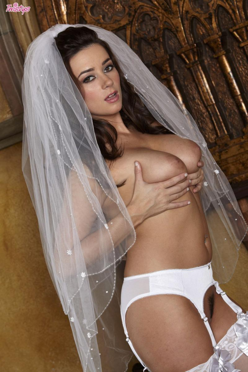 Remarkable, Naked bride in stockings are