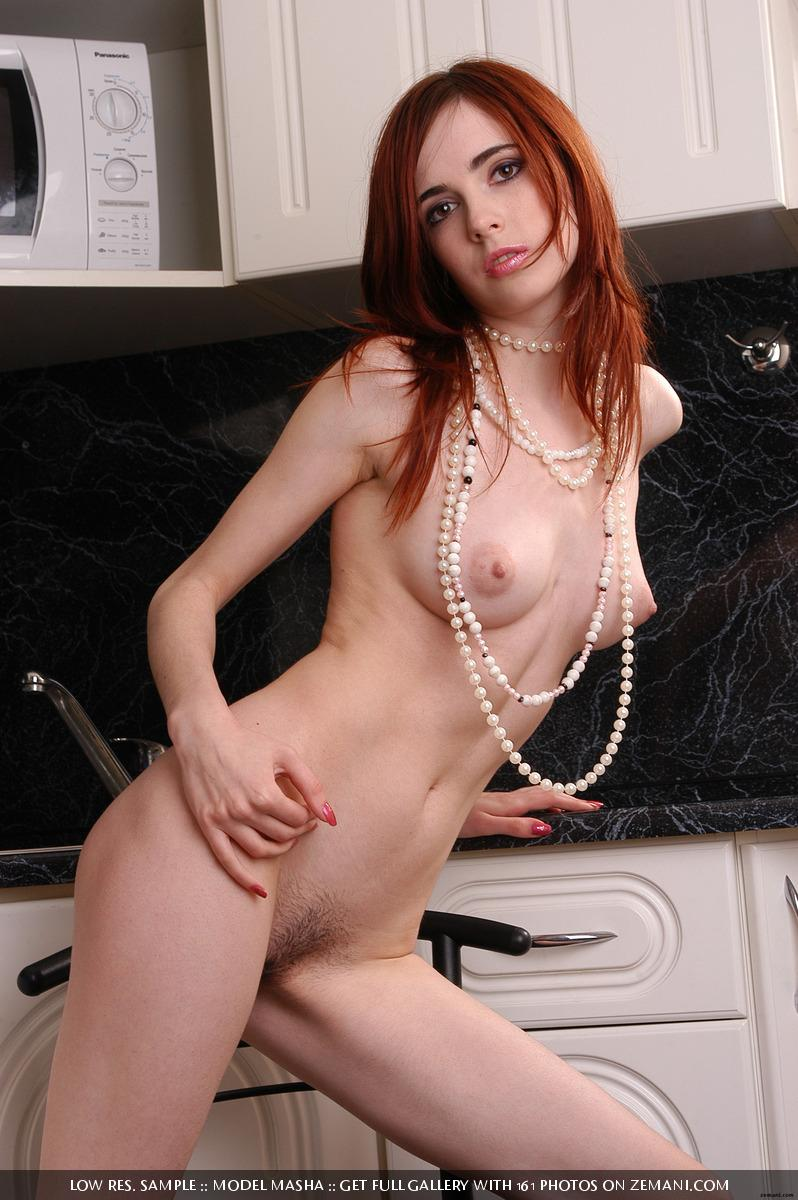 Seductive redhead girlie with splendid body - Masha - 10