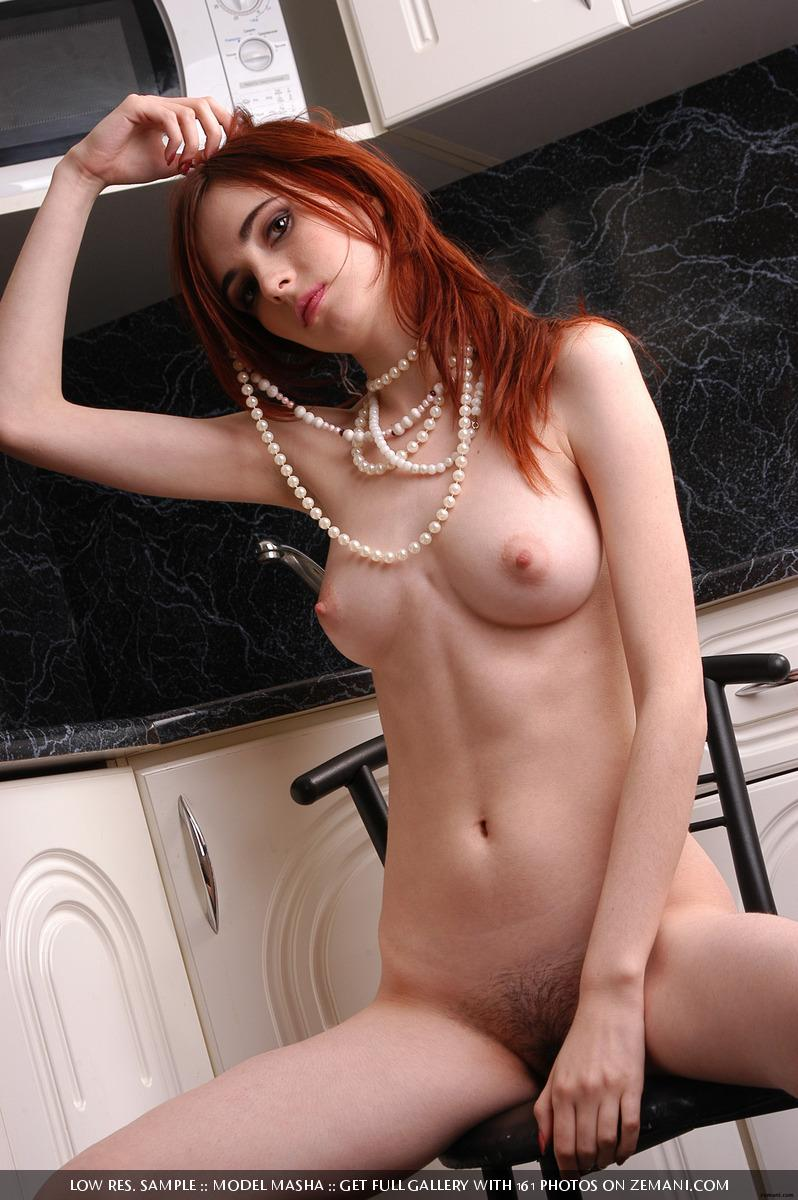 Seductive redhead girlie with splendid body - Masha - 13