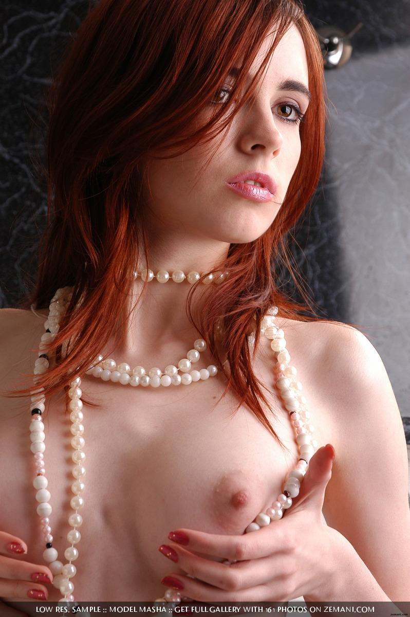 Seductive redhead girlie with splendid body - Masha - 15