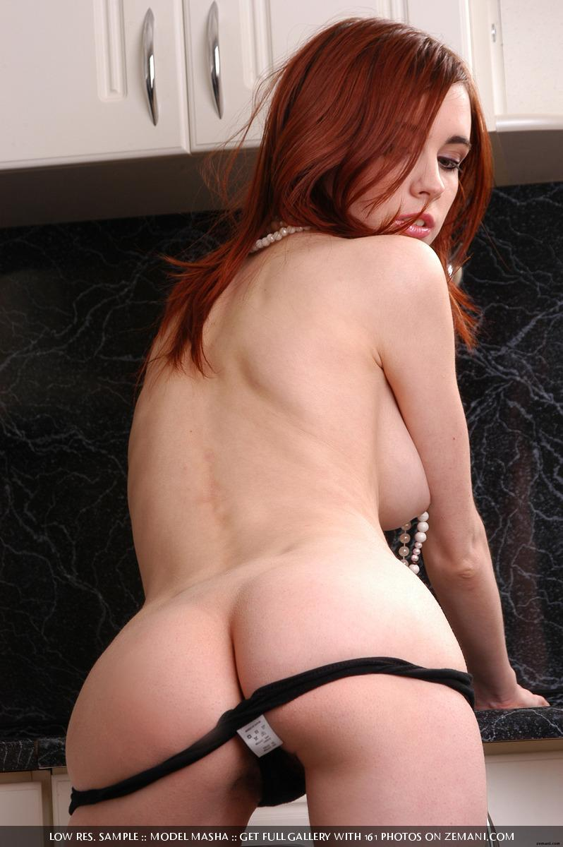 Seductive redhead girlie with splendid body - Masha - 4
