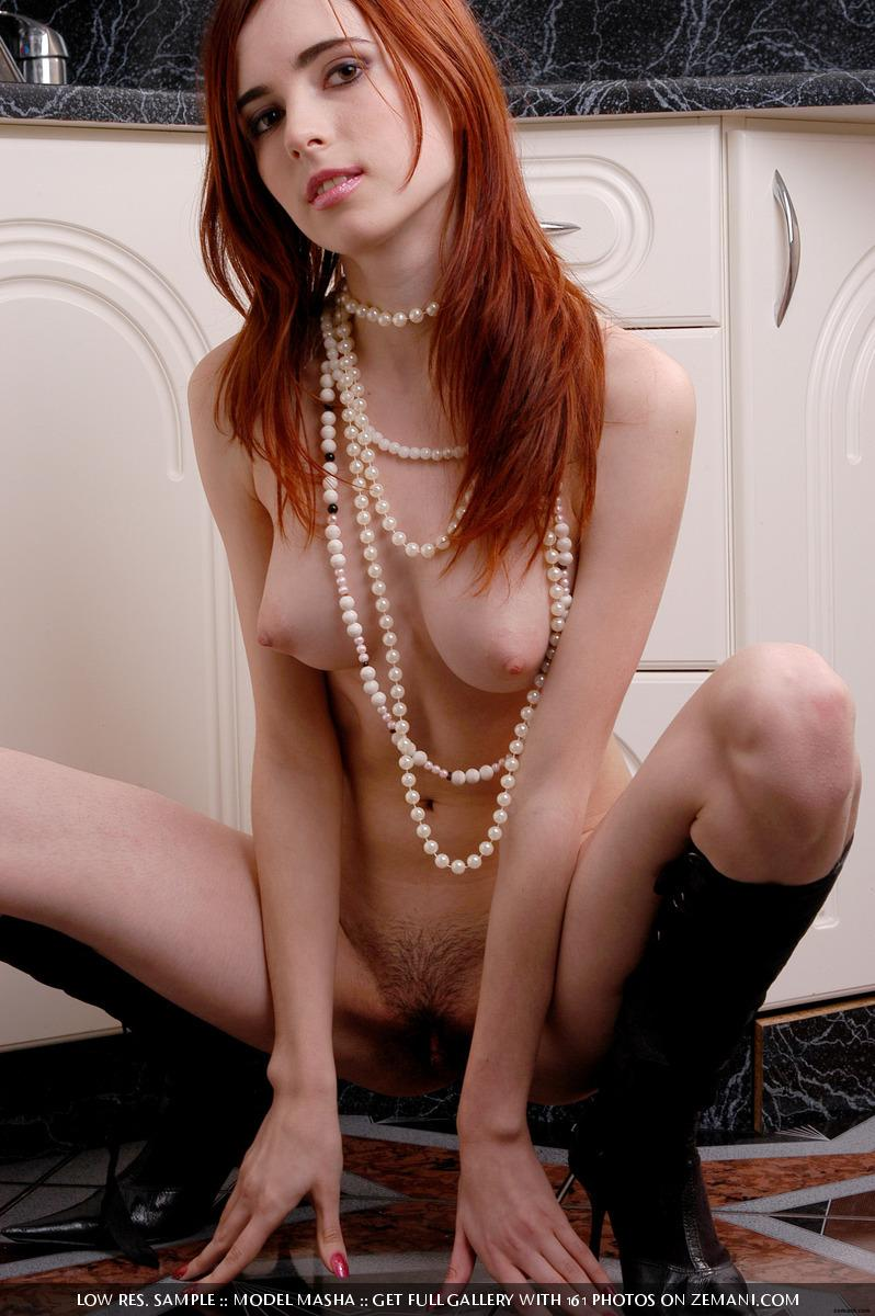 Seductive redhead girlie with splendid body - Masha - 6