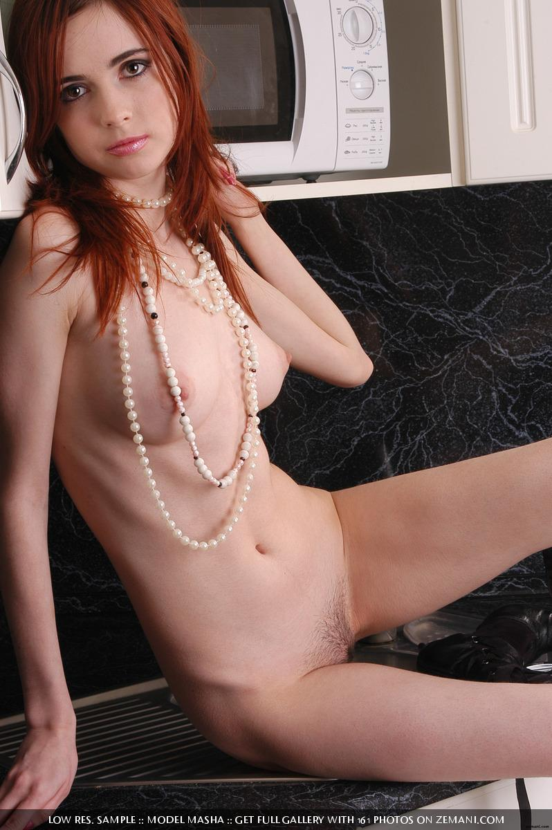 Seductive redhead girlie with splendid body - Masha - 8