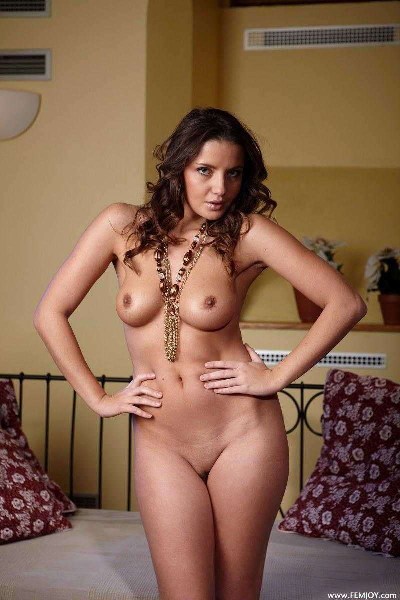Astonishing chick is posing naked - Barbora E  - 1