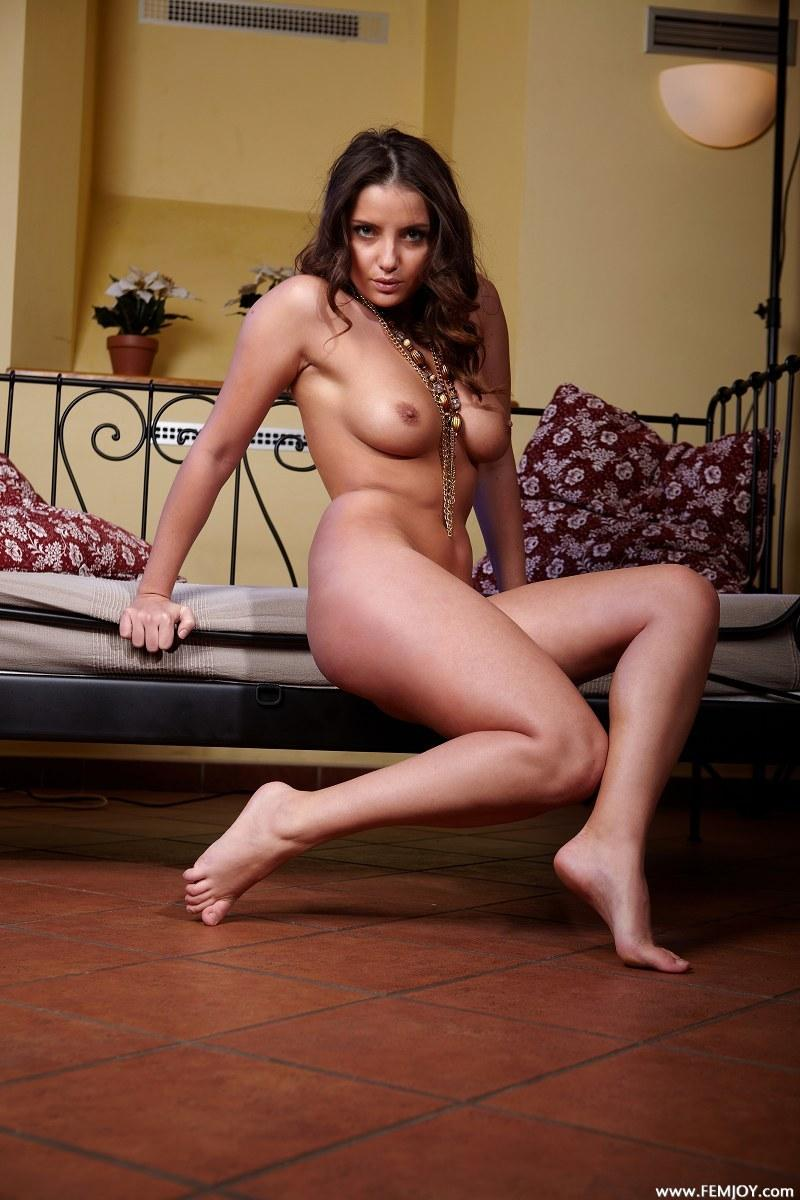 Astonishing chick is posing naked - Barbora E  - 11